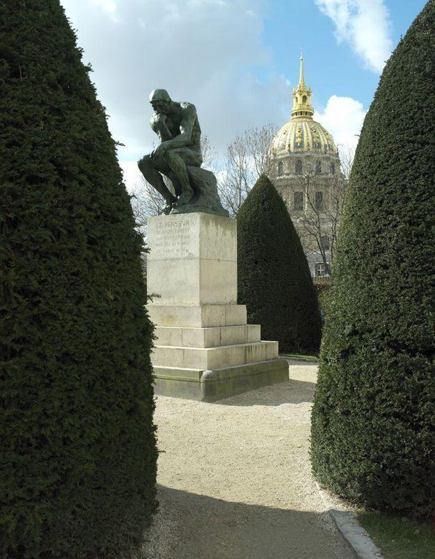 Dans les allées du musée Rodin
