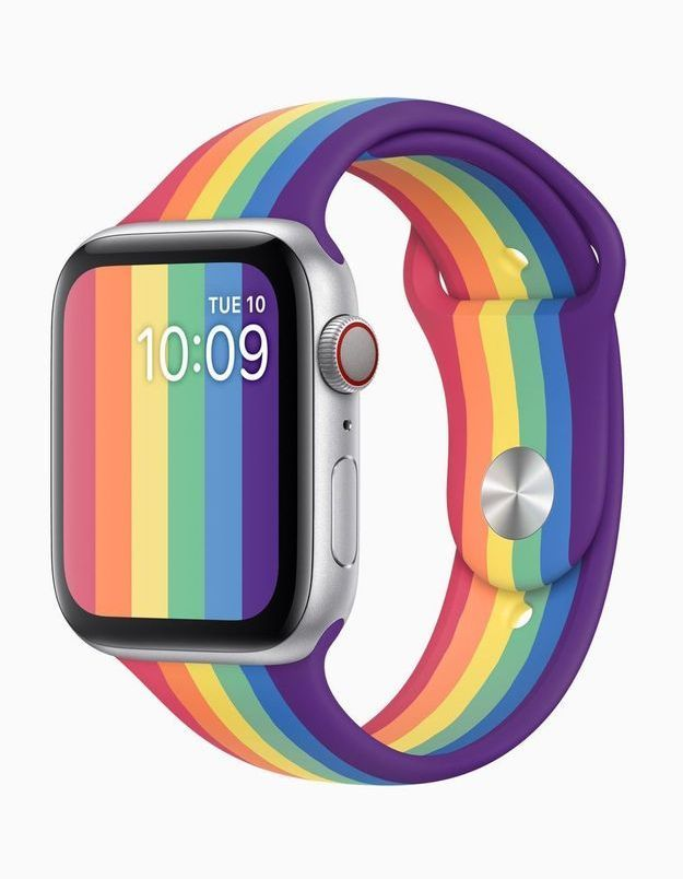 Apple dévoile ses bracelets Apple Watch Pride pour célébrer les fiertés LGBTQ+