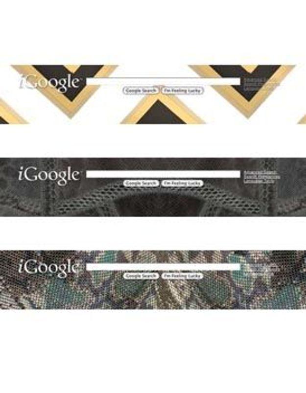 Jimmy Choo s'invite sur iGoogle