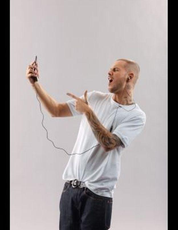 M.Pokora joue la carte MP3