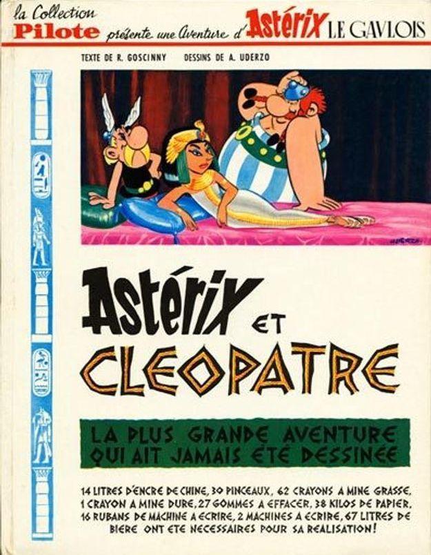 « Astérix et Cléopâtre » de René Goscinny et Albert Uderzo