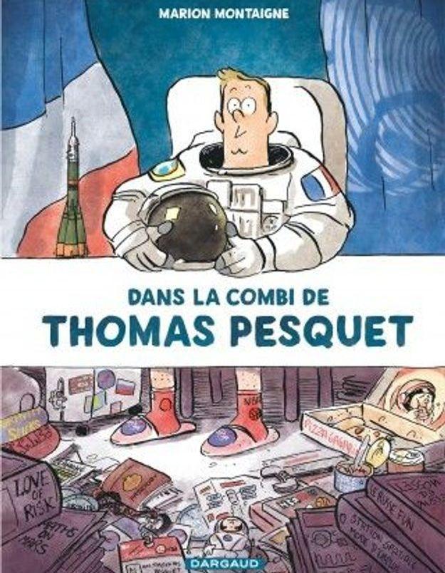 « Dans la combi de Thomas Pesquet » de Marion Montaigne