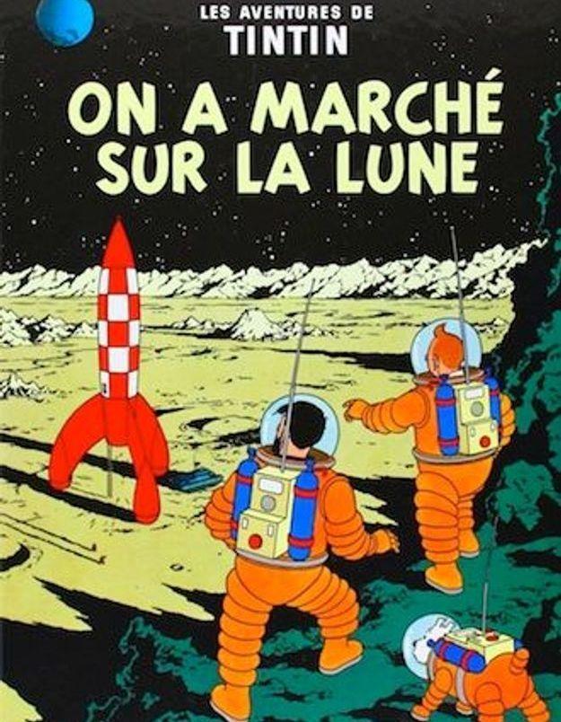 « Les aventures de Tintin : on a marché sur la lune » d'Hergé