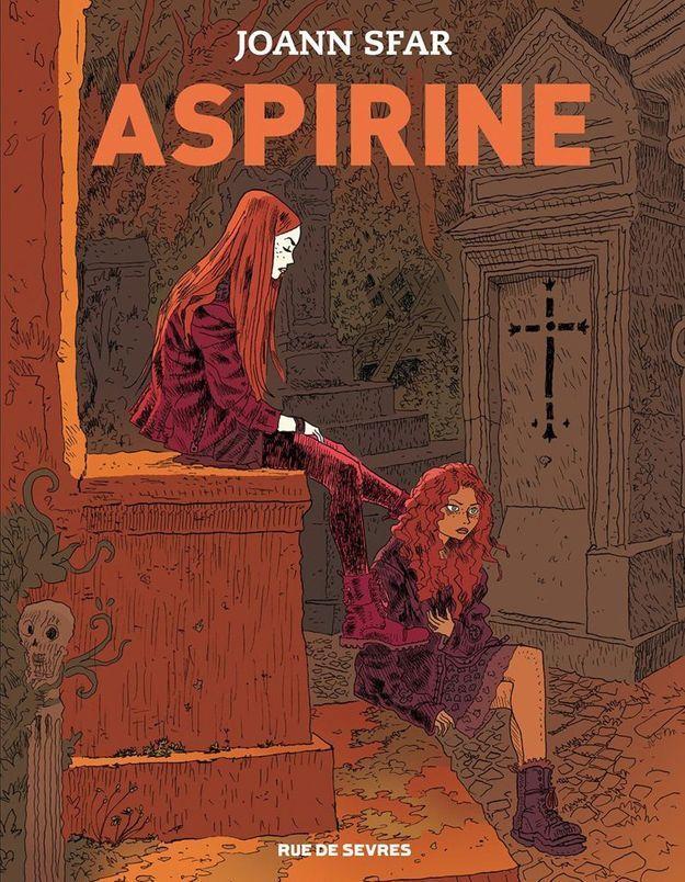 « Aspirine » de Joann Sfar (Rue de Sèvres)