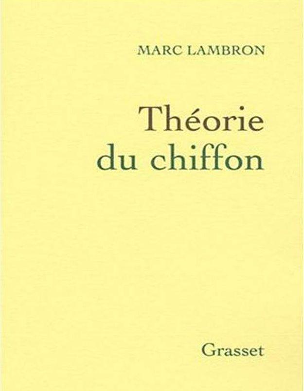 « Théorie du chiffon » de Marc Lambron