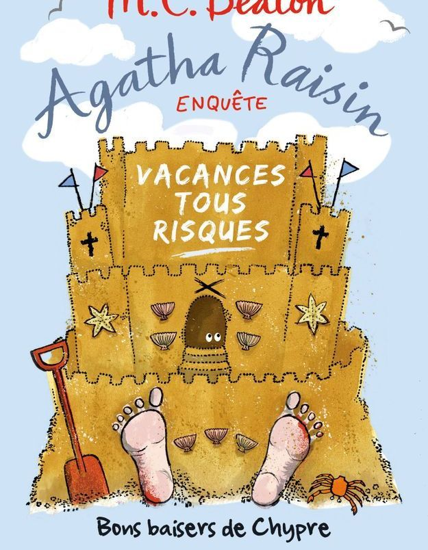 « Agatha Raisin enquête, vacances tous risques » de M.C. Beaton (Albin Michel)