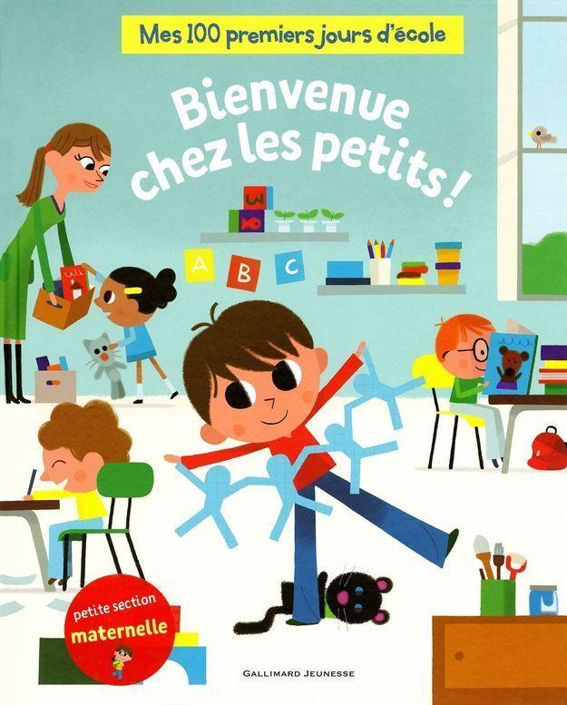« Mes 100 premiers jours d'école – Bienvenue chez les petits ! », de Arnaud Alméras (Gallimard Jeunesse)