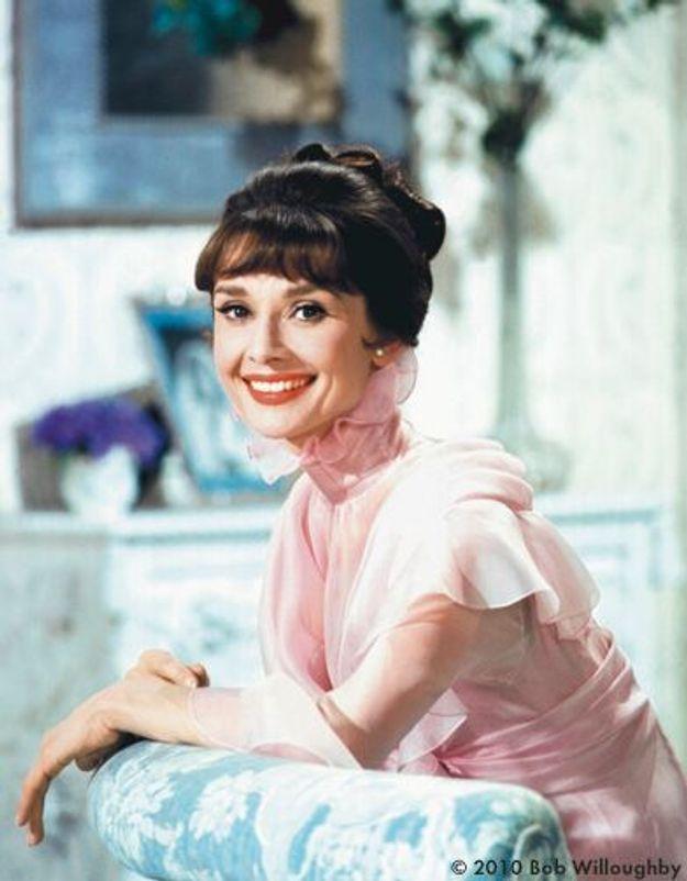 Audrey Hepburn, sacrées frimousses