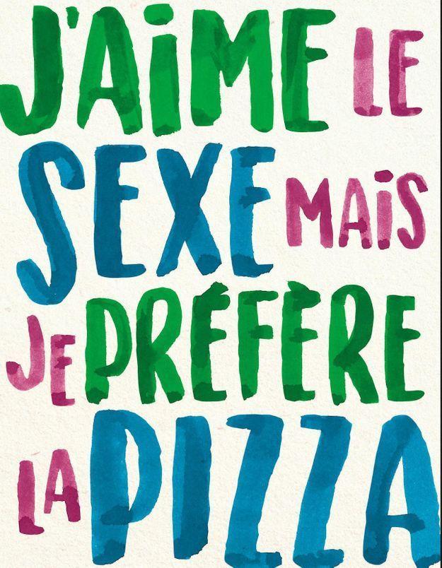 « J'aime le sexe mais je préfère la pizza » : pourquoi vous devez lire ce livre