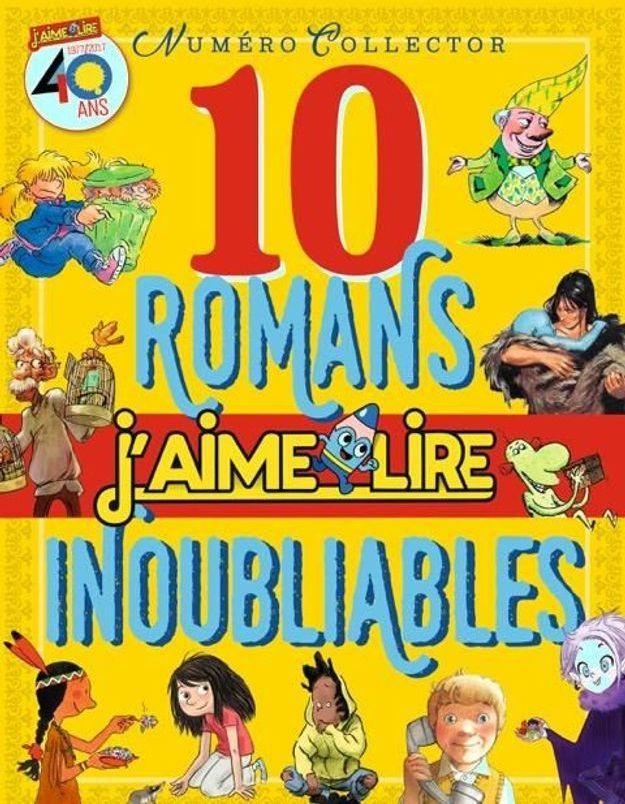 """""""J'aime lire"""" a 40 ans... et 10 de ses romans cultes à vous faire (re)lire"""