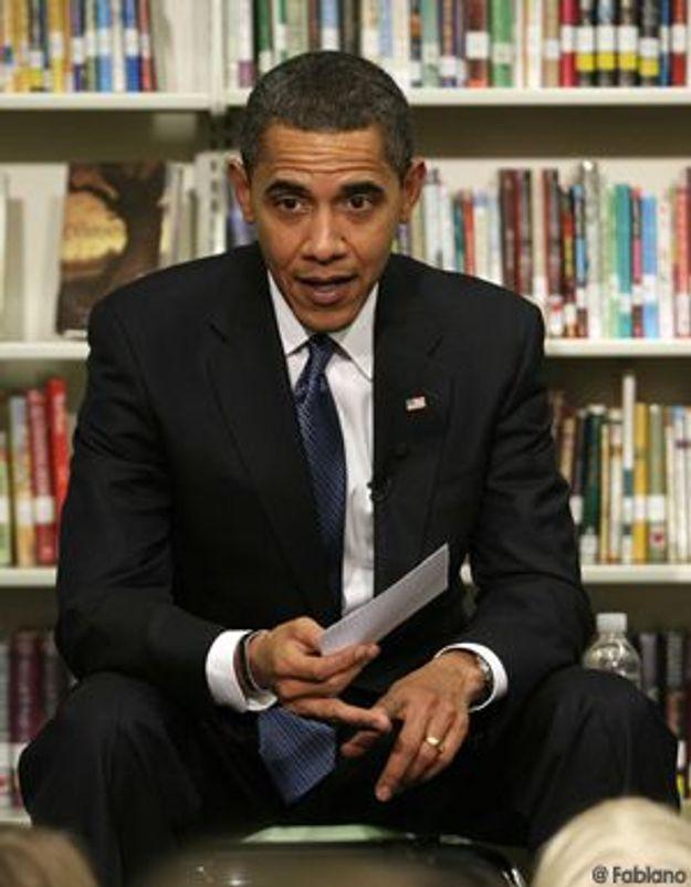 La bibliothèque idéale de... Barack Obama