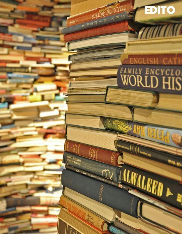 """""""Son geste était tellement beau d'essayer de la ramener à la vie avec un livre"""" : la mission du libraire"""