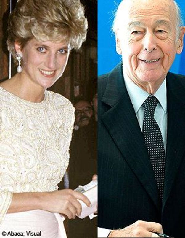"""Lady Di / Valéry Giscard d'Estaing : une histoire """"vraie""""?"""