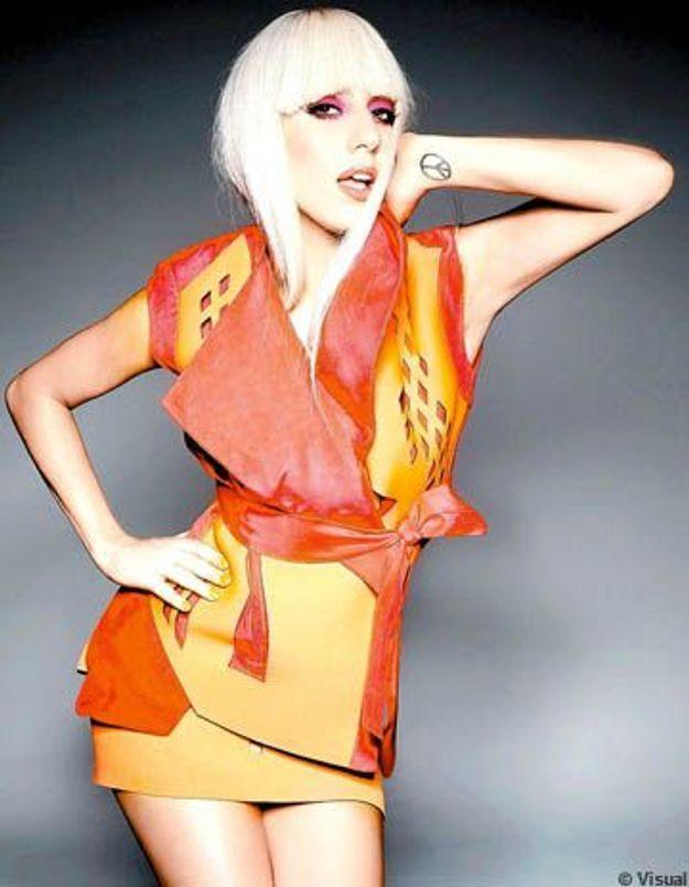 Lady Gaga, héroïne de bande dessinée