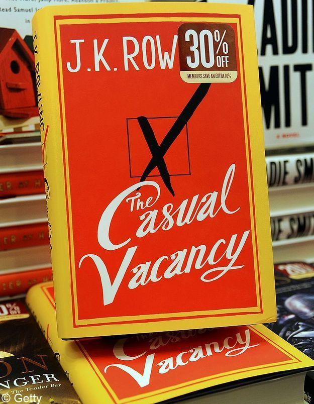 Le nouveau J.K. Rowling cartonne en France