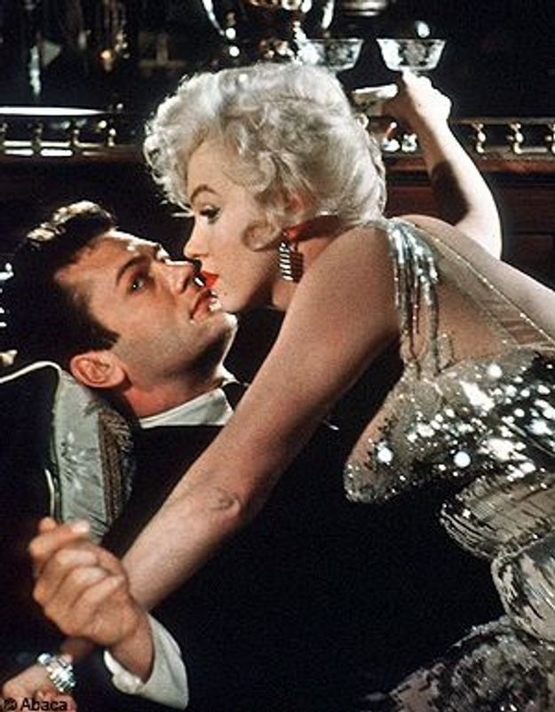 Marilyn Monroe, enceinte de Tony Curtis ?