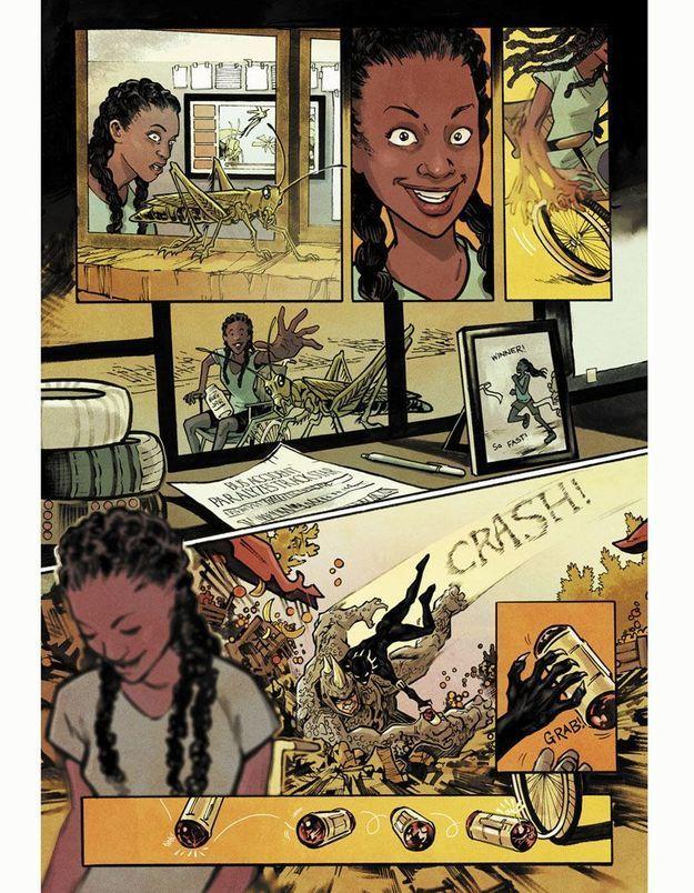 Ngozi : découvrez la super-héroïne de Marvel