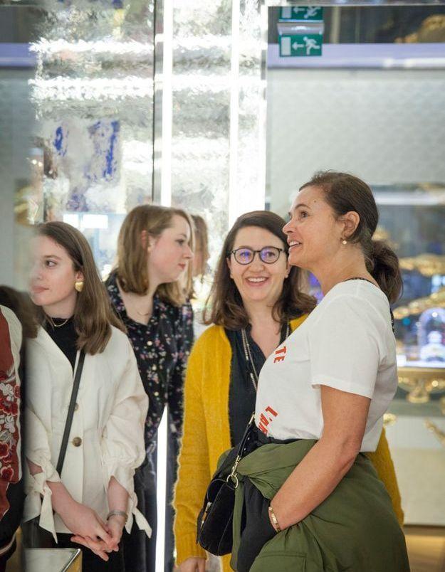 Flavie Philipon (ELLE), Elisabeth Martorell (ELLE) et Nathalie Dupuis (ELLE)