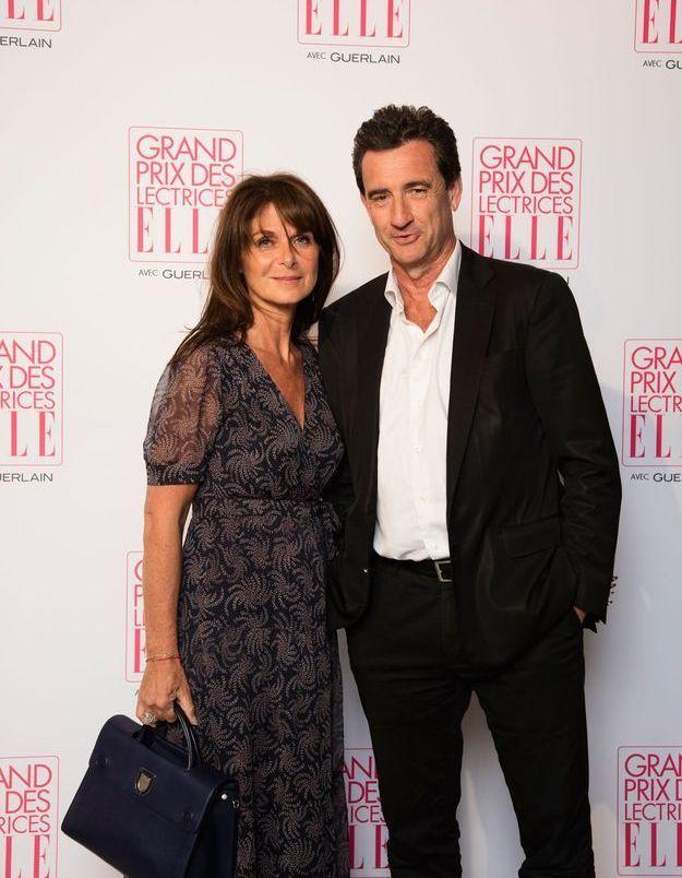 Caroline Pois (ELLE) et Pierre Conte (Editis)
