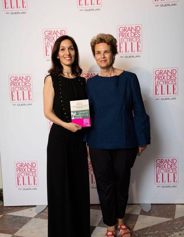 Delphine Minoui et Pascale Frey (ELLE)