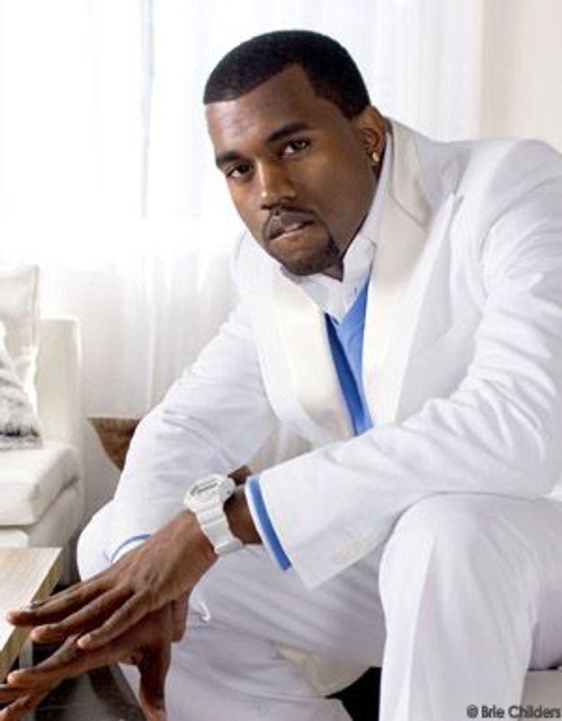 Kanye West, star rapsolue