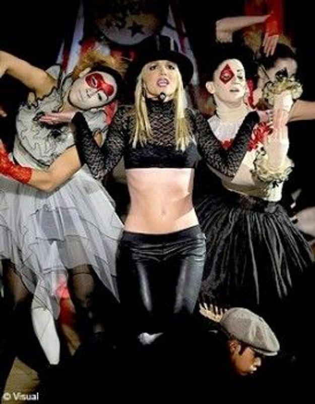 Britney Spears à Paris : un show décevant ?