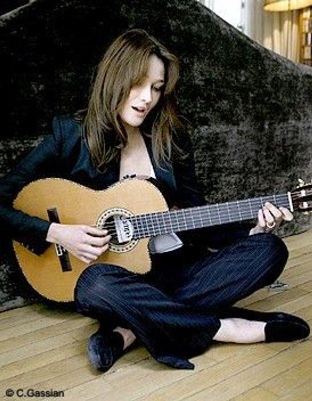 Deux albums en préparation pour Carla Bruni
