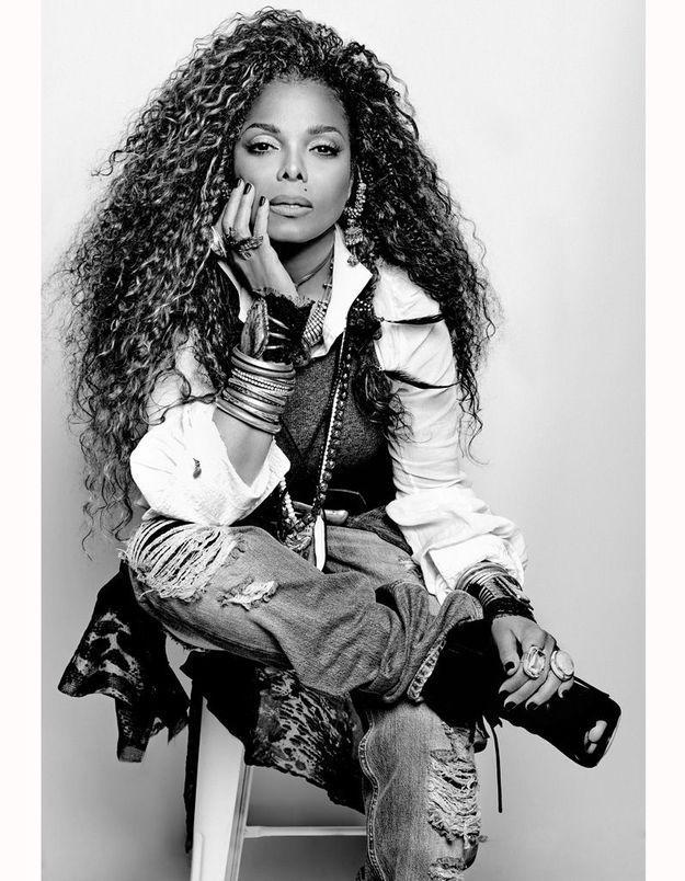 Janet Jackson : découvrez les coulisses de la séance photo de son nouvel album