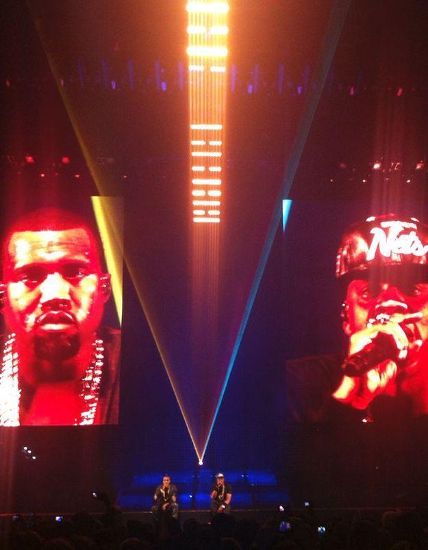 Jay-Z et Kanye West ont battu des records à Bercy !