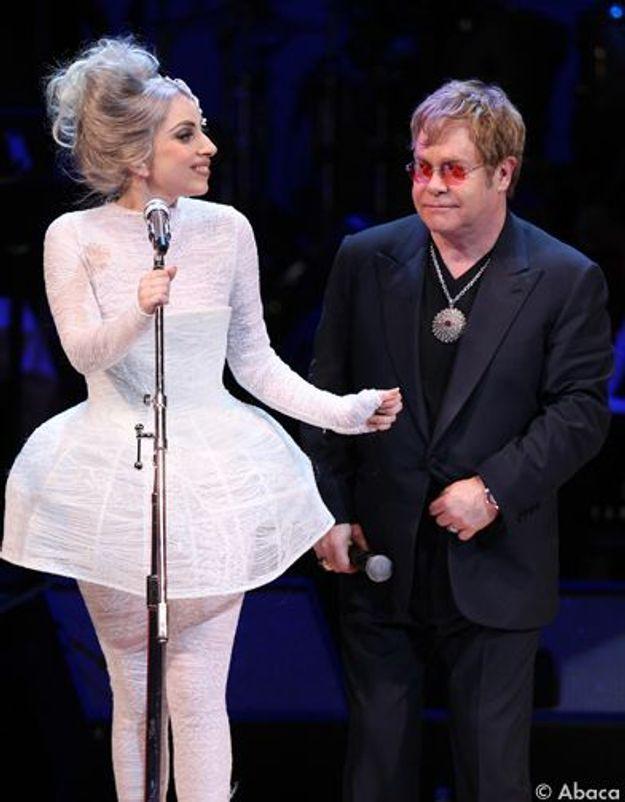Lady Gaga et Elton John en duo pour « Gnomeo et Juliet »