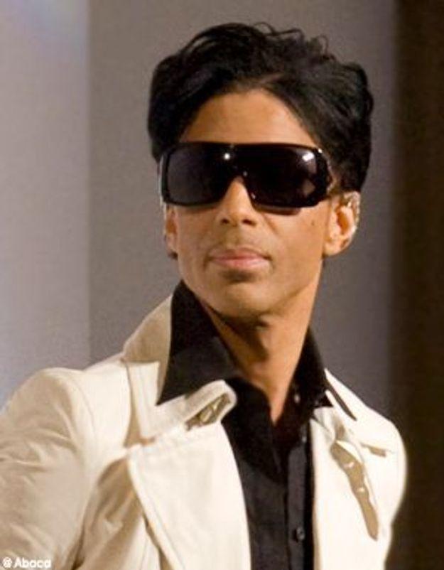Le chanteur Prince crée du buzz sur le net