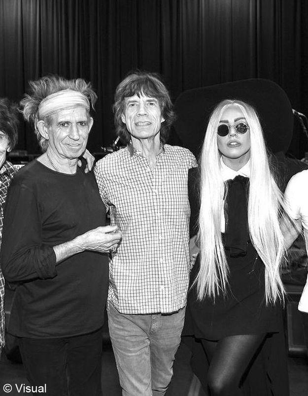 Les Rolling Stones invitent Lady Gaga sur scène !