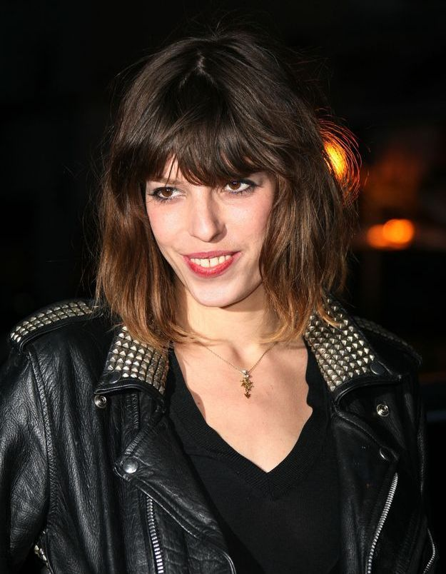 Lou Doillon, muse d'un groupe de rock