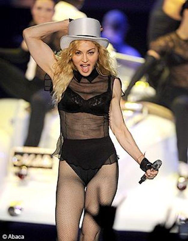 Madonna en concert : même la pluie ne l'arrête pas !