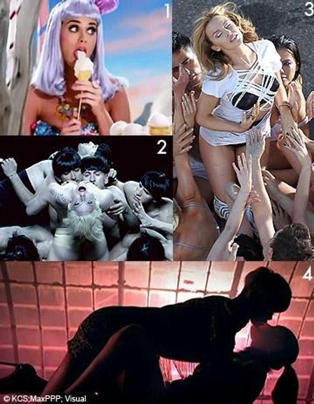 Musique : des clips de plus en plus sexys ?