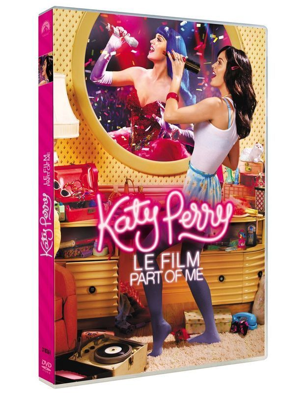 On a vu le dvd « Katy Perry : a part of me »