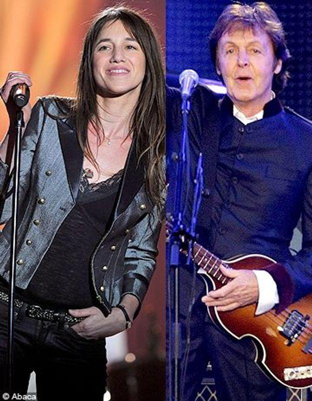 Paul McCartney : une chanson pour Charlotte Gainsbourg ?