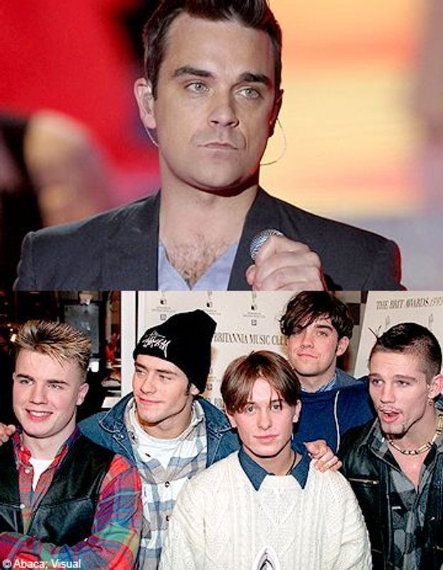 Robbie Williams : 15 ans après, il ré-intègre Take That