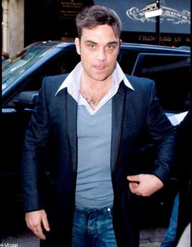 Robbie Williams, de retour sur scène en solo