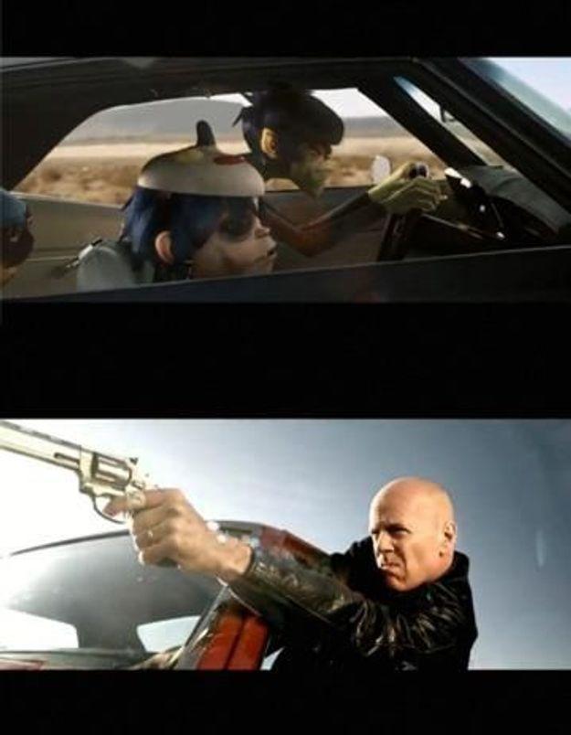 Scoop : Bruce Willis chez Gorillaz !