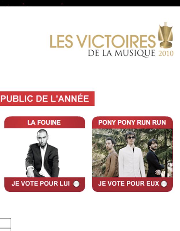 Victoires de la Musique : les votes du public sont ouverts !