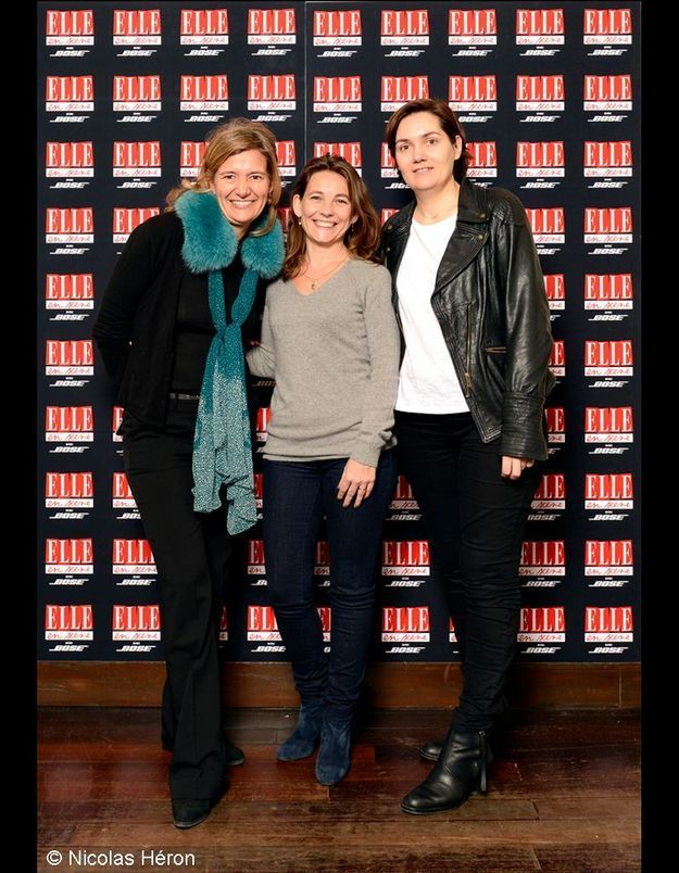 Mirella Testori, Imma Brevan et Anne-Laurence Vely.