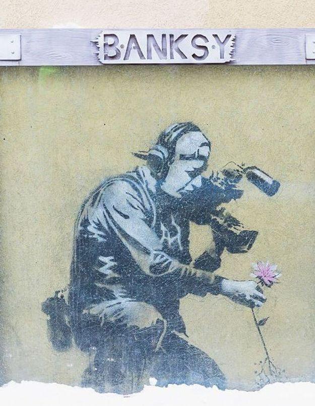 Banksy, l'artiste dont l'œuvre s'est auto-détruite, est-il le leader de Massive Attack ?