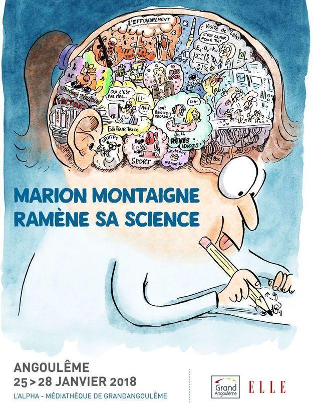 Rencontrez Marion Montaigne au Festival International de la BD d'Angoulême