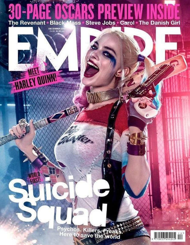 Suicide Squad : Margot Robbie et Cara Delevingne en couverture d'Empire