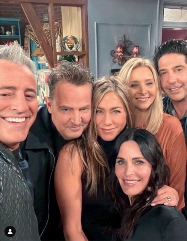 Les acteurs de « Friends » ont vieilli, il n'y a pas de quoi se moquer