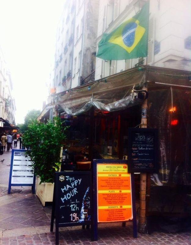 Un bar latino dans le centre de Paris