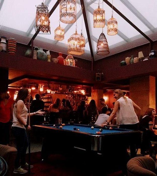 Le bar à jeux Bliss