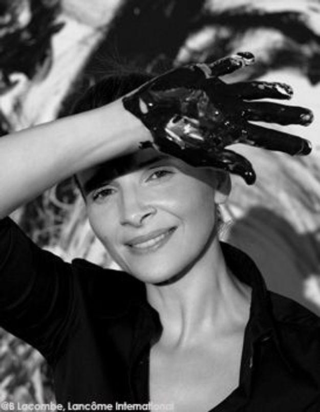 Juliette Binoche s'envoie en l'art