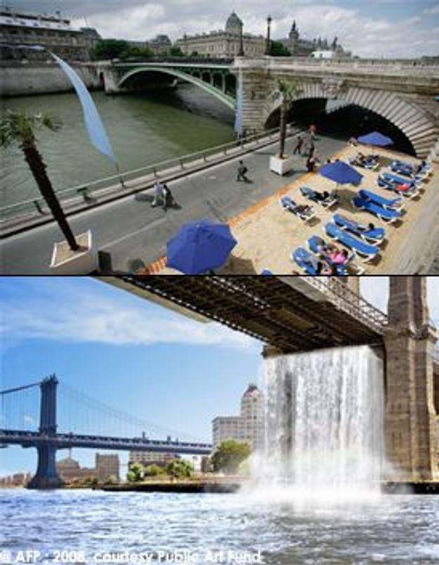 New York-Paris, faites plouf-plouf